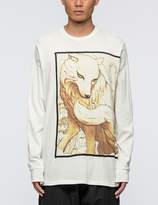 3.1 Phillip Lim Spirit Wolf L/S T-Shirt
