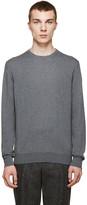 Moncler Grey Classic Crewneck Sweater
