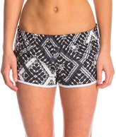 "Hurley Supersuede Printed 2.5"" Beachrider Tye Dye Boardshort 8142637"