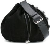 Alexander McQueen bucket crossbody bag - women - Suede - One Size