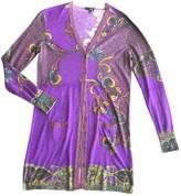 Etro Purple Cashmere Knitwear for Women