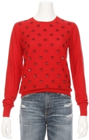 Markus Lupfer Sequin Small Apple Pullover Sweater