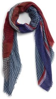BP Women's Colorblock Houndstooth Scarf