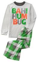 Crazy 8 Bah Hum Bug 2-Piece Pajama Set