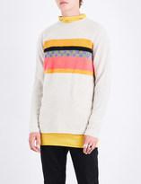 The Elder Statesman Gofa striped cashmere jumper