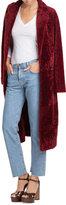 Velvet Long Sleeved Cotton Top