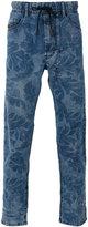 Diesel floral print jeans - men - Cotton/Spandex/Elastane/Lyocell - 28
