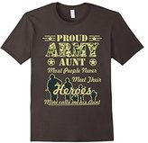 Proud Army Aunt T-Shirt memorial day tshirt