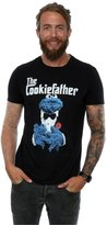 Sesame Street Men's Cookie Monster The Cookiefather T-Shirt