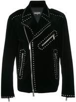 DSQUARED2 studded biker jacket