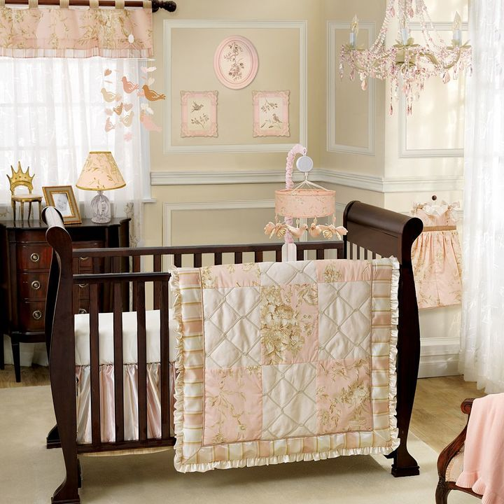Lambs & Ivy little princess bedding coordinates