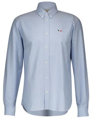 MAISON KITSUNÉ Fox Oxford shirt