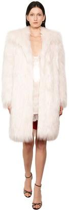 Philosophy di Lorenzo Serafini Long Faux Fur Coat