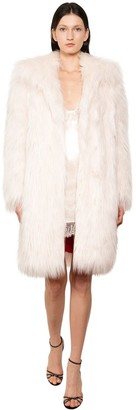 Philosophy di Lorenzo Serafini Long Faux Fur Coat