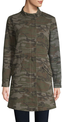 Etienne Marcel Camouflage Military Cotton Jacket