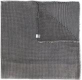 Faliero Sarti checked scarf - women - Silk/Cotton/Modal - One Size