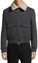 Ami Blouson Poches Plaquees Jacket