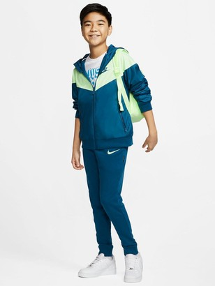 Nike Boys Light Weight Jacket - Blue