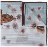 Valentino Garavani Valentino butterfly print scarf