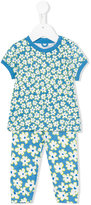 Stella McCartney floral print tracksuit set - kids - Cotton - 3 mth
