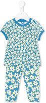 Stella McCartney floral print tracksuit set - kids - Cotton - 9 mth