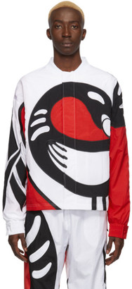 Pyer Moss Reebok by White Collection 3 Sankofa Bomber Jacket