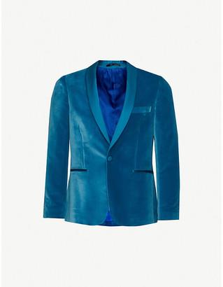 Paul Smith Shawl lapel velvet evening jacket
