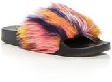 Steve Madden Girls' Softey Slide Sandals