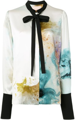 Roksanda Carone water-colour print blouse