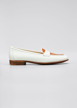 Gravati Two-Tone Penny Loafers