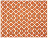 Pottery Barn Becca Tile Reversible Indoor/Outdoor Rug - Orange