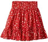 Stella McCartney Twinkle Star Print Pleated Skirt Girl's Skirt