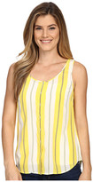 Tommy Bahama Chappel Stripe Button Tank Top