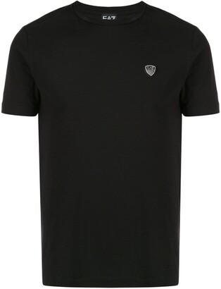 EA7 Emporio Armani logo patch T-shirt