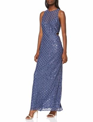 Little Mistress Women's Anais Sequin Maxi Dress Party