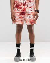 Reclaimed Vintage Shorts In Floral Print