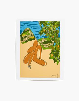 Madewell DIARRABLU Afternoon in Makaha Art Print