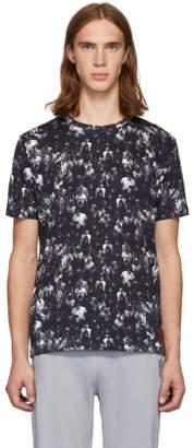 HUGO Black Diamen Crowd Print T-Shirt