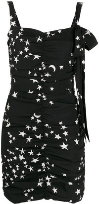 P.A.R.O.S.H. ruched seam dress