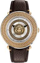 Versace Men's Icon Two-Tone Dial Watch, 46mm