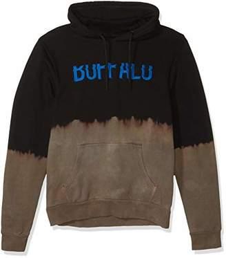 Buffalo David Bitton Men's Long Sleeve Heavy French Terry Hoodie