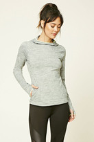 Forever 21 FOREVER 21+ Active Heathered Pullover