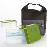 Fit & Fresh FIT AND FRESH Men's Sporty Lunch Bag Kit