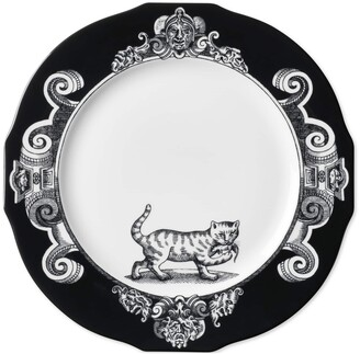 Gucci Cat charger plate