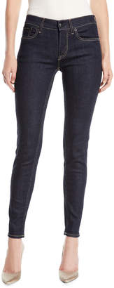 Ralph Lauren 400 Mid-Rise Five-Pocket Skinny Jeans