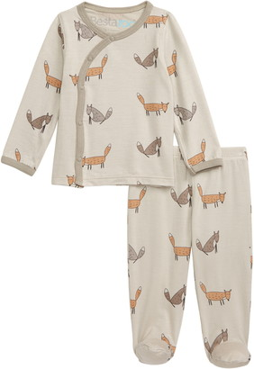 Bestaroo Foxy Loxy Top & Footie Pants Set