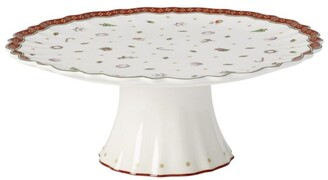 Villeroy & Boch Toy'S Delight Footed Cake Plate (28Cm)