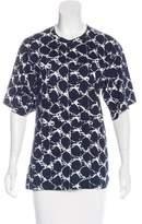Balenciaga Printed Short Sleeve T-Shirt
