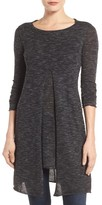 Dex Women's Split Front Knit Tunic
