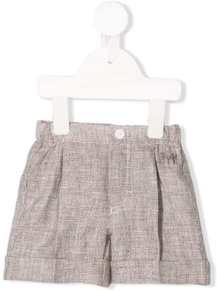 Il Gufo Linen Knit Shorts